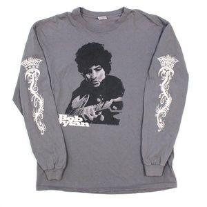 VTG Bob Dylan Single Stitch LS Anvil T Shirt